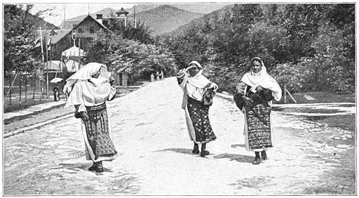 De kleeding der vrouwen in het dal der Olt.