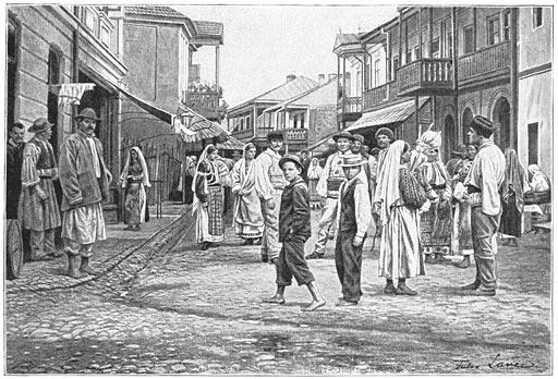 Het stadje Horezu.