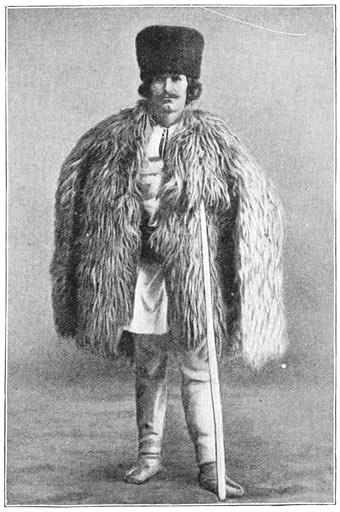 Roemeensch bergbewoner.
