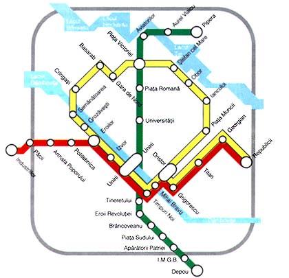 Metro Bukarest